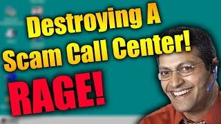 Destroying A Tech Support Scam Call Center | SHUTDOWN + RAGE | Tech Support Scammers EXPOSED!