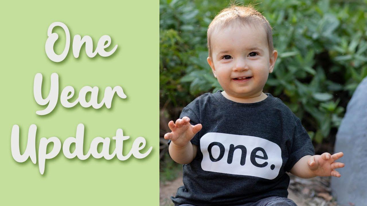 One Year Old! Baby Update - Luke Ballinger