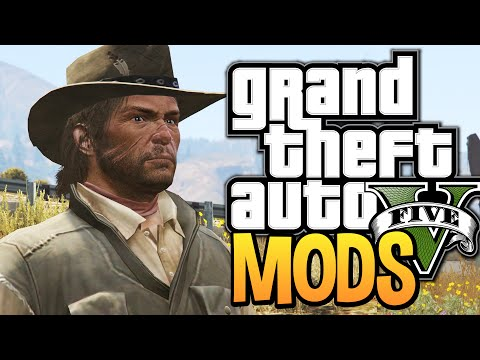 GTA 5 - The Wild Wild West Mod - BEST MODS OF THE WEEK! (GTA 5 Funny Moments w/ Mods)