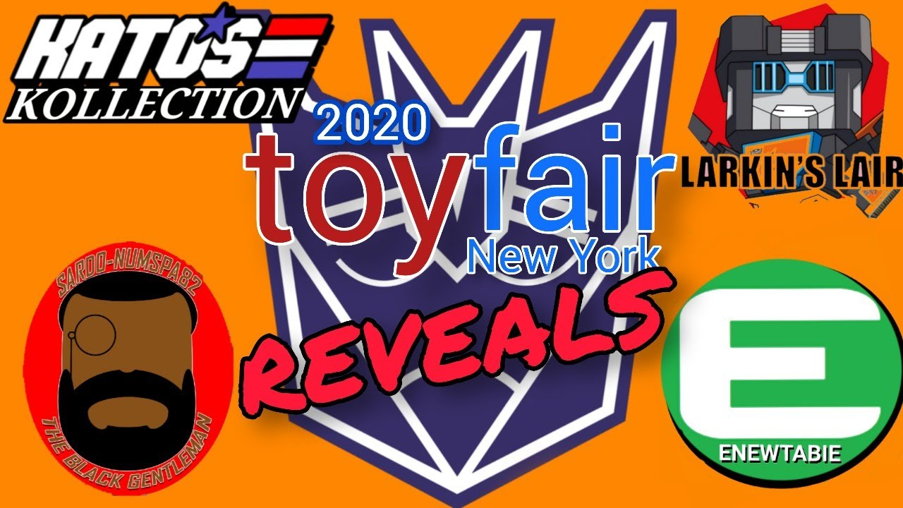 Toy Fair 2020 - Rejecticons: Let's talk About Reveals
