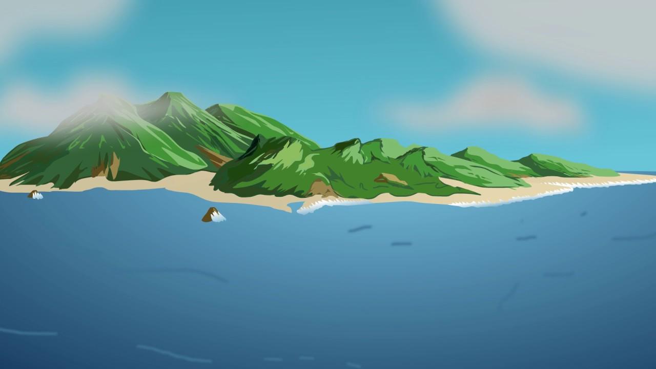 Animated Dragon Wallpaper Nice Island Animation Youtube