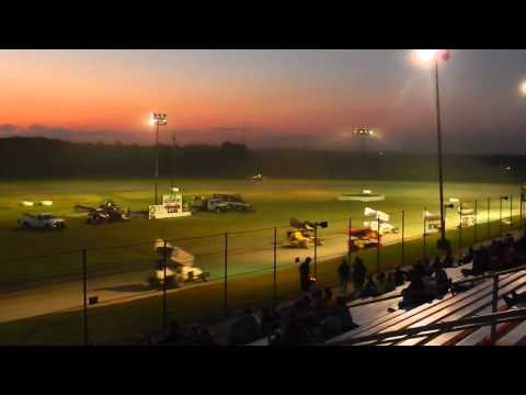 TWMA - 85 Speedway - 5/7/16 - Heat #1 - Complete Restart