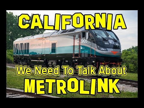 California: We Need to Talk About METROLINK 🚂