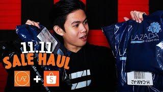Lazada + Shopee 11.11 Sale HAUL (UBOS ANG IPON)