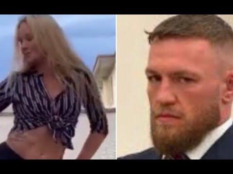 Conor McGregor Cringe As Valentina Dance To Sea Of Love