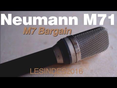 NEUMANN RFT M71 // LEGENDARY M7 CAPSULE // Large Diaphragm Condenser Microphone