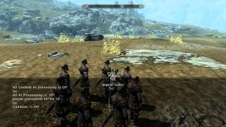 Skyrim How To: Create NPC Battles