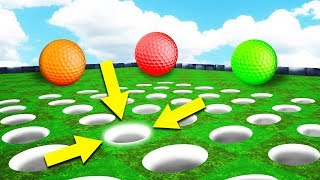 WHICH HOLE = HOLE IN ONE!? (Golf It)