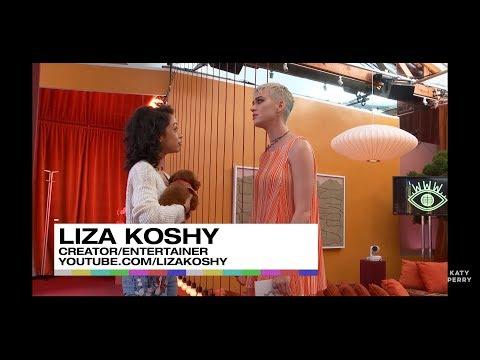Liza Koshy in Katy Perrys live stream