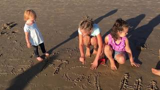 Learn English Letters! Baby Beach Alphabet with Sign Post Kids!