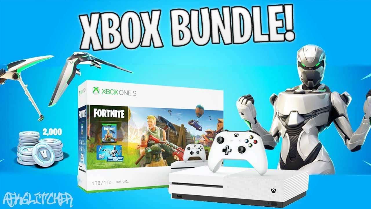 Fortnite Xbox Exclusive Skin 2000 V Bucks Fortnite Xbox One S