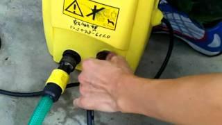 萊姆 HPI 1000b 高壓清洗機 洗車機 拆卸 高壓管 洩壓 教學
