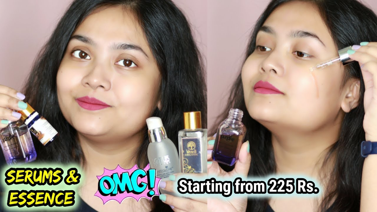 Serums & Essence for Dry Skin 2020 | Top 8 With Price & Review | Soumi Bose