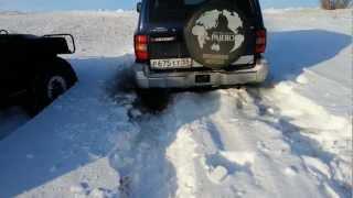 хаммер h1 & паджеро2- покатушки по снегу, омск ч.№5из 8