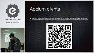 Appium - Back To The Basics - Singapore Appium Meetup