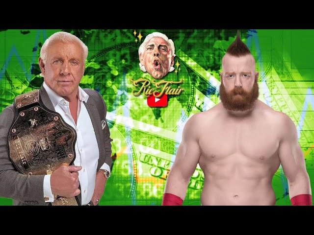 Ric Flair on  Sheamus as WWE champion