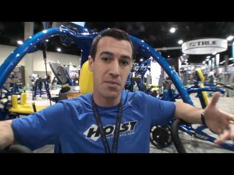 IHRSA 2010 - HOIST Commercial Gym Equipment - Jon Ham From Fitness On The Run.mp4