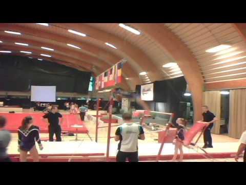 gymnovacup 2016 juniors uneven bars