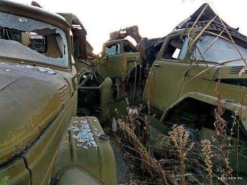 ПОЛУзаброшенная ремонтная база. КОМУ МЕШАЛО?!? Дальний Восток. abandoned military equipment