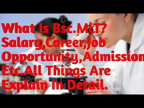 B.Sc MLT क्या Better है Career के लिये ADMISSION,Salary,Job|| जानिये Detail मे & Many Thing About IT