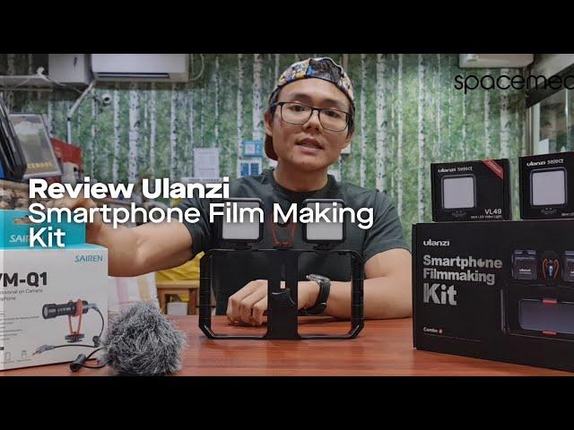Review Ulanzi Smartphone Film Making Kit | Bikin Cinematic di HP!