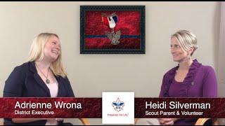 'Scouting Can Be A Family Affair' Heidi Silverman