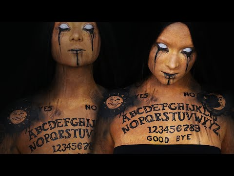 Ouija/Spirit Board Makeup Tutorial | Halloween 2016