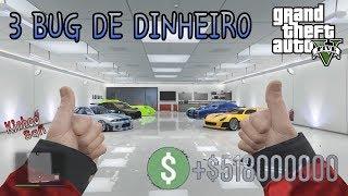 GTA V Online - 3 Bug de dinheiro infinito SOLO (PS3,PS4,XBOX360,ONE,PC)