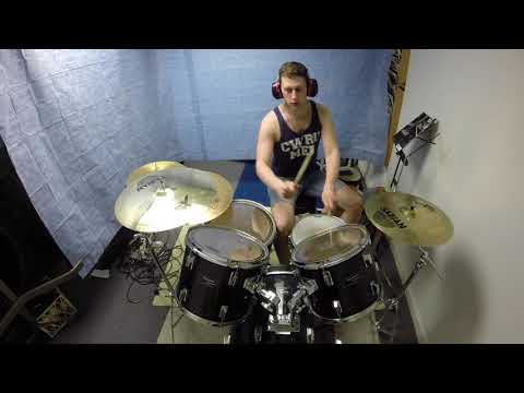 Burning Down the House (Talking Heads) Drum Cover