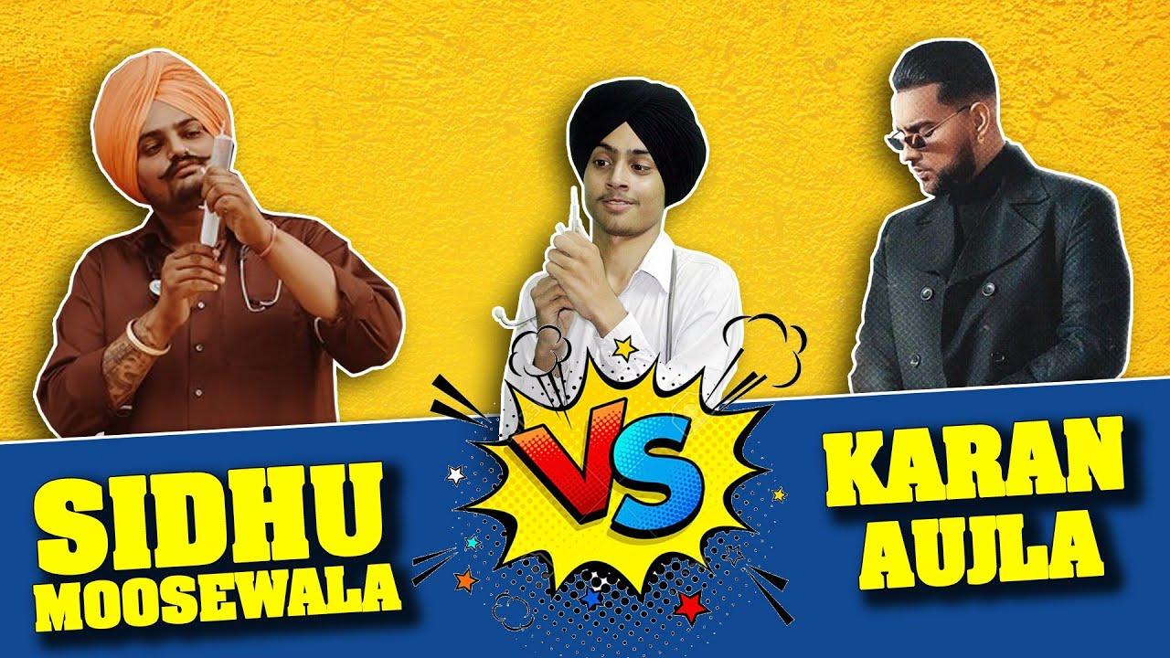 DOCTOR | SIDHU MOOSEWALA vs KARAN AUJLA | Fight | Funny conversation | Harshdeep Singh