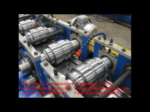 lihao machine roll forming line for goods shelf