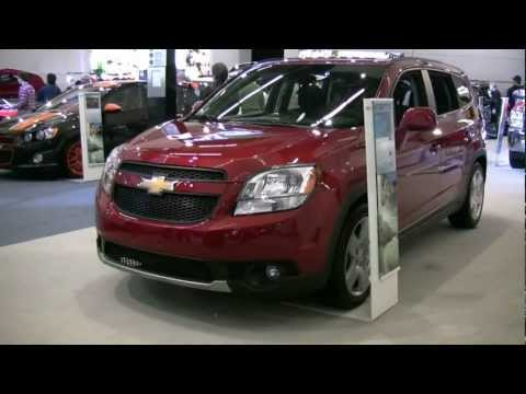 2012 Chevrolet Orlando Exterior and Interior at 2012 Montreal auto show
