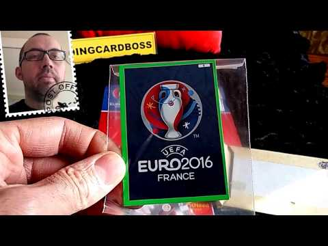 Panini Adrenalyn XL UEFA Euro 2016 France what came through the post