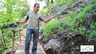 Petit Pont au Camping Cevennes Provence