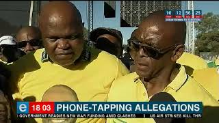 ANC's Magashule makes phone tapping claims