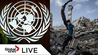UN General Assembly holds dispute on Israel-Gaza dispute|LIVE  | NewsBurrow thumbnail