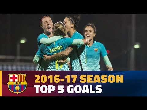 The FC Barcelona Women's team's best goals of the season