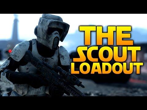 Star Wars Battlefront: THE SCOUT LOADOUT (Choose My Loadout)