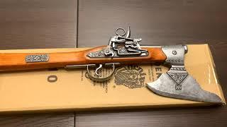 Пистолет-топор кремневый Германия 17 в, Flintlock Pistol With Axe, Germany 17th. C., Denix 1010