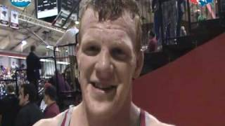 Interview: Division II 197-pound Champion Donovan McMahill