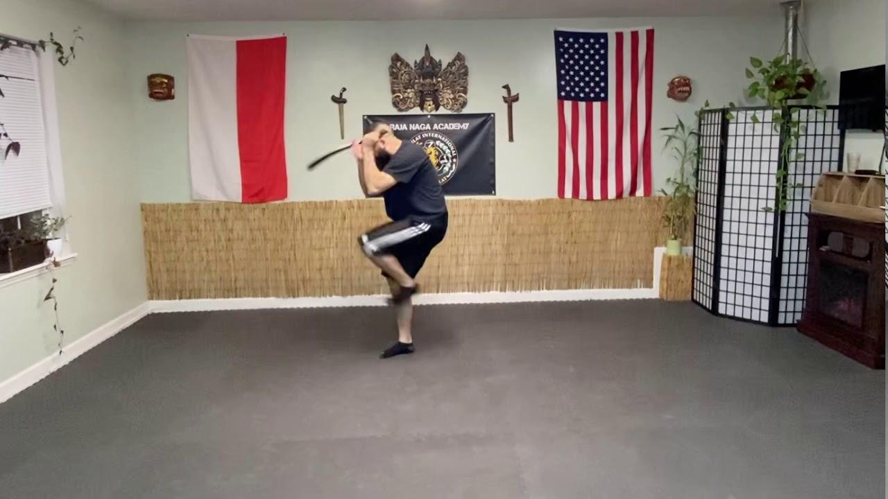 Parang (Machete) Short Fighting Form