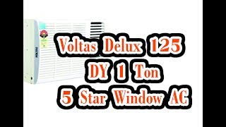 Voltas Delux 125 DY 1 Ton 5 Star Window AC