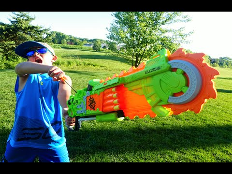 Thumbnail: Nerf War: Brainsaw Mayhem
