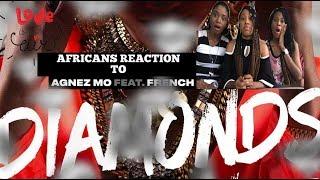 Agnez Mo - Diamonds Ft. French Montana [Official Audio] Reaction By AGA