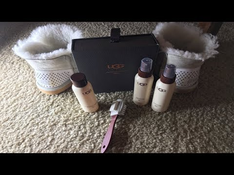 HOW TO CLEAN YOUR UGG BOOTS || FT UGG CARE KIT