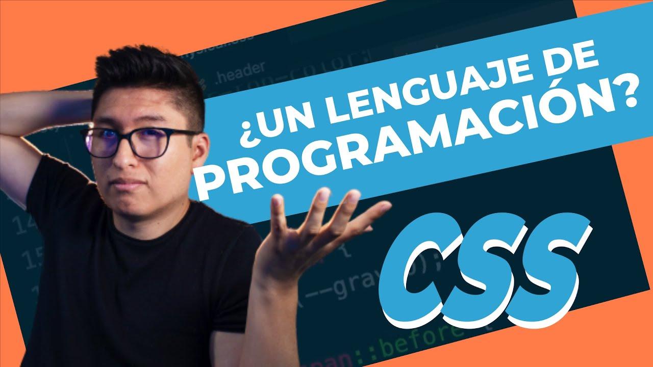 ¿Es CSS un Lenguaje de Programación?