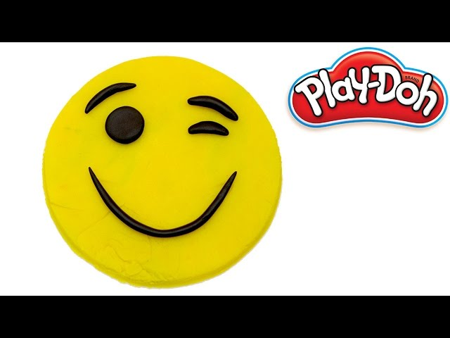Learn Colors | How to Make emoji from kinetic sand | Emoticons and colors|