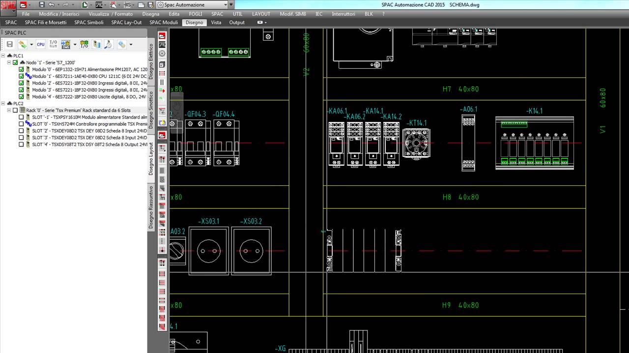 Schemi Elettrici Plc : 23 07 spac automazione plc u2013 gestione avanzata u2013 disegno del