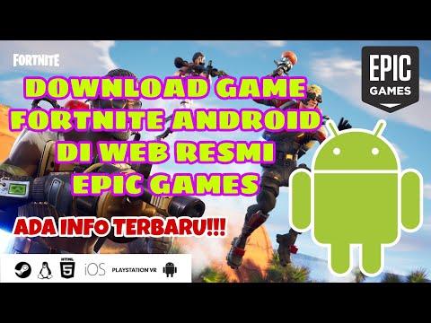 Download FORTNITE ANDROID di Web Resmi EPIC GAME, BELUM di PLAY STORE !!! - 동영상