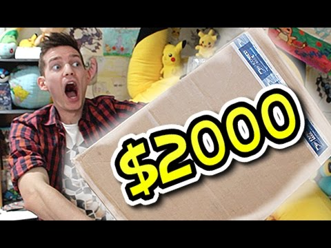 Mail Man Monday Ep #131 ($2000+ OF RARE CARDS & GAMES!!!)